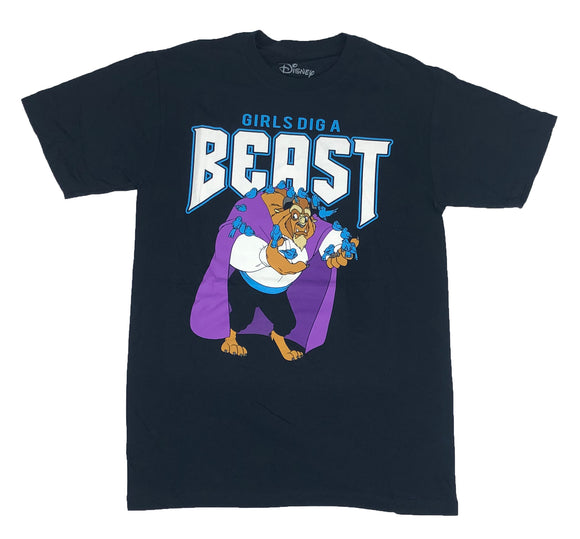 Disney Chicks Dig A Beast Beauty And The Beast Original Licensed Men's T Shirt - tshirtconnect