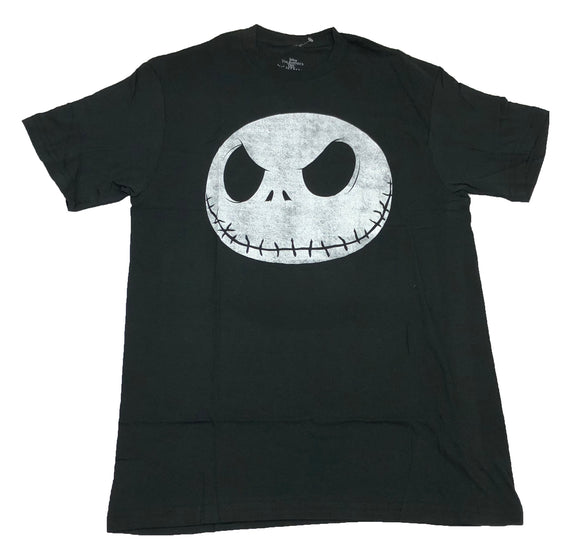 Disney's The Nightmare Before Christmas Jack Skellington Big Head Men's T Shirt - tshirtconnect