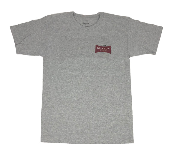 Brixton Genuine Trademark Logo Short Sleeve Men's T Shirt - tshirtconnect