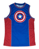 Marvel Comics Captain America First Avenger Retro Mens Jersey - tshirtconnect