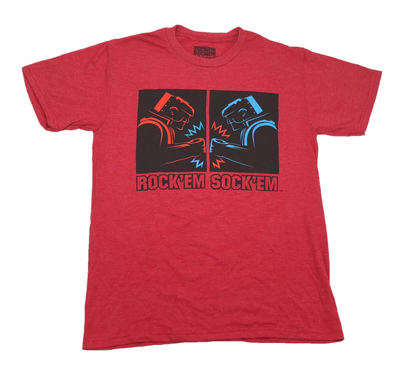 Rock'Em Sock'Em Robots Men's T Shirt - tshirtconnect