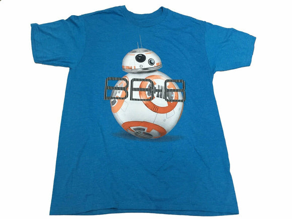 Star Wars Men's T Shirt BB-8 Droid Portrait Movie Graphic Tee - tshirtconnect