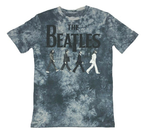 The Beatles Abbey Road Icon Rock Music Band Retro Men's Tie Dye T Shirt - tshirtconnect