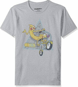 Nickelodeon Catdog Scooter Men's T Shirt Graphic Tee Retro Medium - tshirtconnect