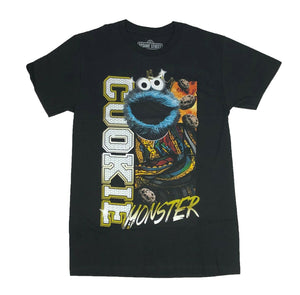 Sesame Street Cookie Monster King Funny Graphic Tee Men's T Shirt - tshirtconnect
