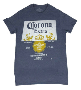 Corona Extra Original Logo Cerveza Beer Alcohol Authentic Men's T Shirt - tshirtconnect