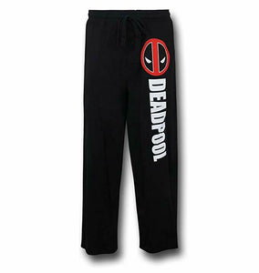 Marvel Deadpool Logo Pajama Bottom Men's Lounge Pants - tshirtconnect