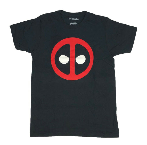 Marvel Men's T Shirt Deadpool Icon Face Logo Graphic Tee - tshirtconnect