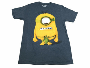 Disney Despicable Me Men's T Shirt Minion Leaf Loin Cloth Funny Graphic Tee - tshirtconnect