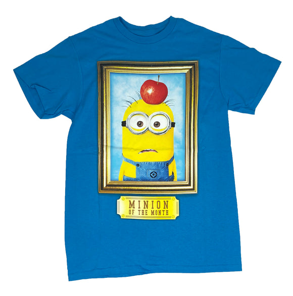 Disney Despicable Me Men's T Shirt Minion Of The Month Graphic Tee