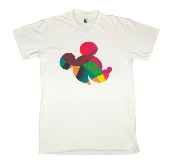 Disney Men's T Shirt Mickey Mouse Colorful Head Disneyland Disneyworld - tshirtconnect