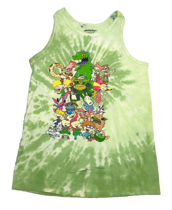 Nickelodeon Group Shot Rocko Rugrats Thornberries Real Monsters Men's Tank Top - tshirtconnect