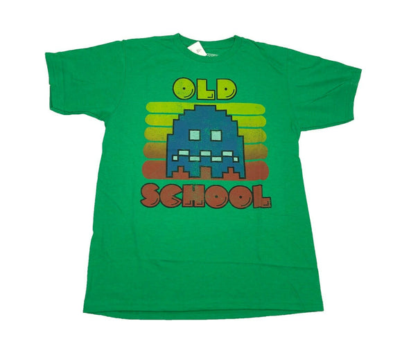 Pacman Men's T Shirt Old School Atari Retro Vintage Arcade Video Game - tshirtconnect