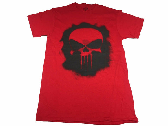 Marvel The Punisher Men's T Shirt Graffiti Drip Logo Vintage Comic Book Retro - tshirtconnect