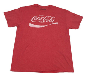 Coke Enjoy Refreshing Coca-Cola Logo Vintage Retro Classic Drink Men's T Shirt - tshirtconnect