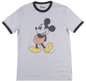 Disney Mickey Mouse Steamboat Mickey Men's Ringer T Shirt - tshirtconnect