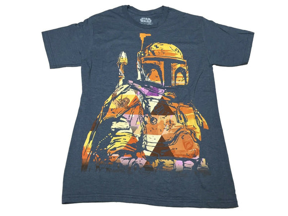 Star Wars Boba Fett Colorful Bounty Hunter Men's T Shirt - tshirtconnect