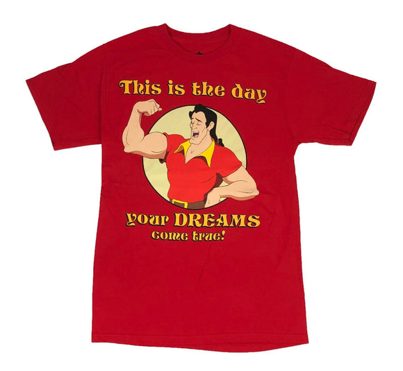 Disney Beauty And The Beast Gaston Your Dreams Come True Men's T Shirt - tshirtconnect