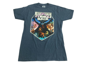 Star Wars The Empire Strikes Back Vader Luke Leia Chewwy R2D2 C3P0 Men's T Shirt - tshirtconnect