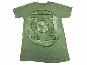 DC Comics Green Lantern Faded Oversized Logo Men's T Shirt - tshirtconnect