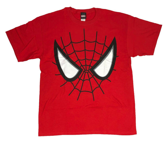Marvel Spider-Man Men's T Shirt Big Face Graphic Tee - tshirtconnect