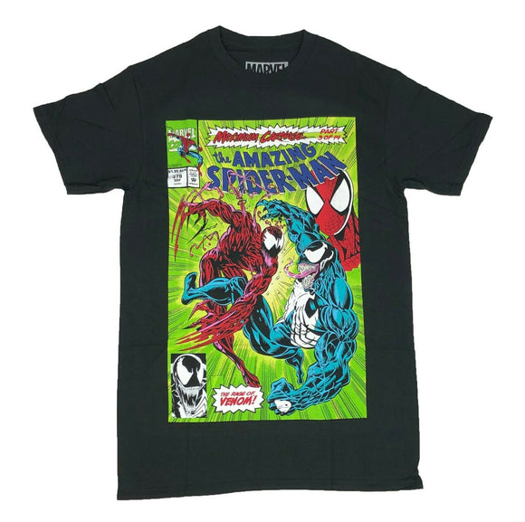 Marvel Comics The Amazing Spider Man Venom Maximum Carnage Men's T Shirt - tshirtconnect