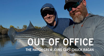 OUT OF OFFICE - Hatch Crew and Captain Chuck Ragan by Mike Kaplan