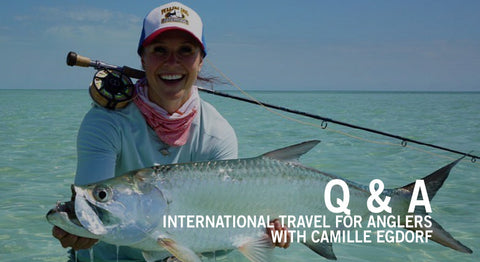 Camille Egdorf International Travel For Anglers Cover Photo
