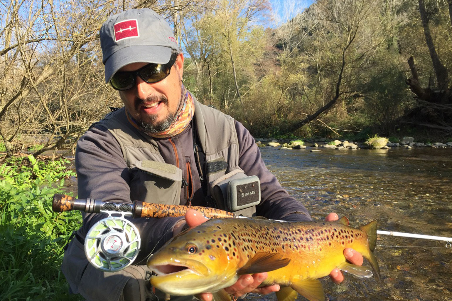 Yannick Riviere Hatch Outdoors Pro Staff