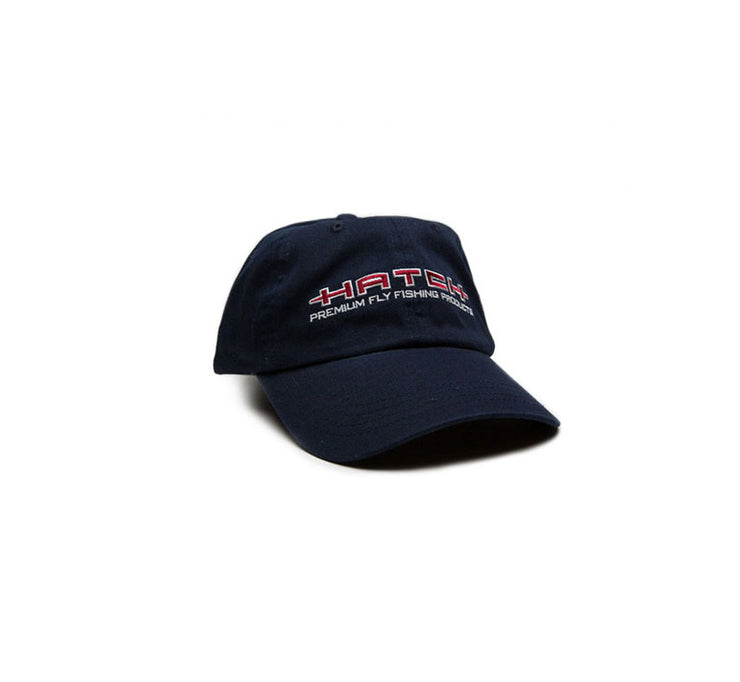 "<img src=""Hatch-GarmentWashedHat_Navy.jpg"" alt=""garment washed pre-formed navy baseball cap with red and white hatch logo"">"