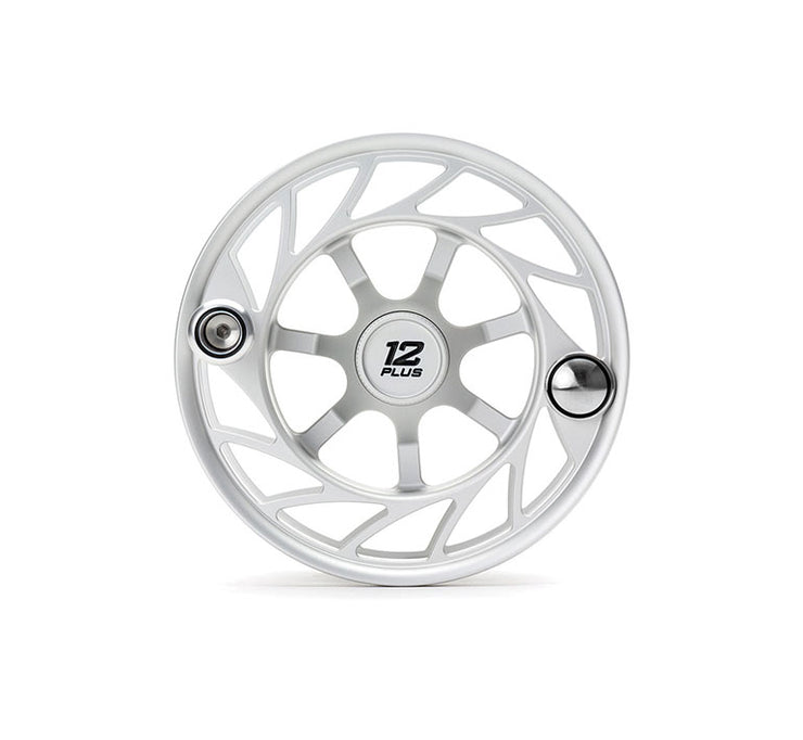 Hatch Finatic Gen 2 12 Plus Extra Spool with Clear body and Black Paint Fill, Large Arbor