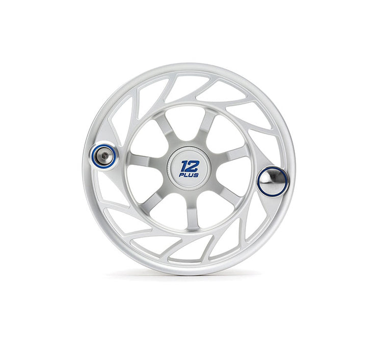 Hatch Finatic Gen 2 12 Plus Extra Spool with Clear body and Blue Paint Fill, Large Arbor