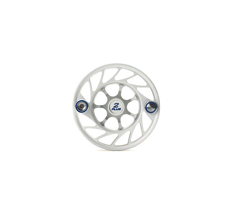 Hatch 2 Plus Gen 2 Finatic Spool with Clear body and green paint