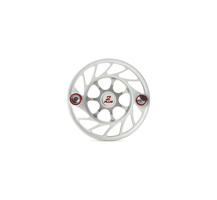 Hatch 2 Plus Gen 2 Finatic Spool with Clear body and red paint