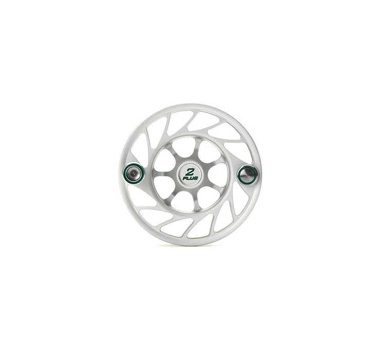 Hatch 2 Plus Gen 2 Finatic Spool with Clear body and blue paint