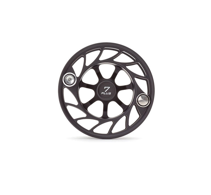 Hatch 7 Plus Gen 2 Finatic Black Silver Large Arbor Extra Spool
