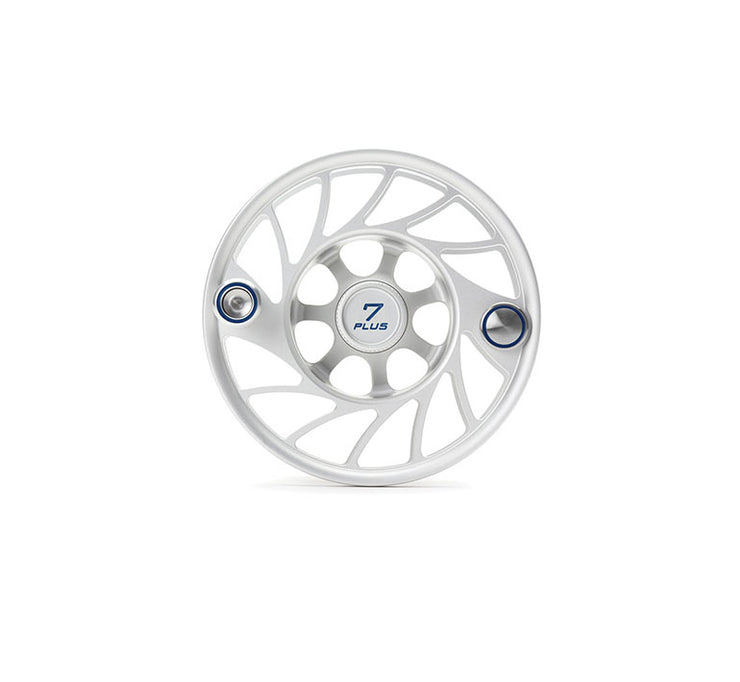 Hatch 7 Plus Gen 2 Finatic Clear Blue Mid Arbor Extra Spool