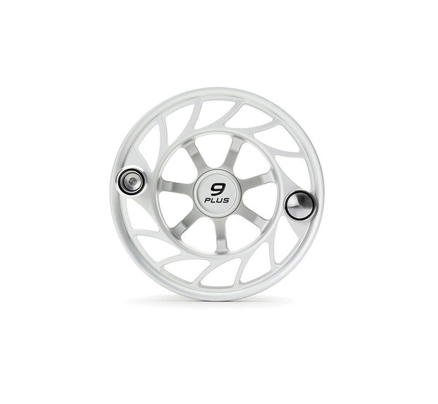 Hatch Finatic Gen 2 9 Plus Extra Spool with Clear body and Black Paint Fill, Large Arbor