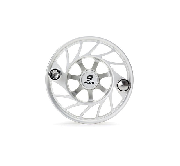 Hatch Finatic Gen 2 9 Plus Extra Spool with Clear body and Black Paint Fill, Mid Arbor