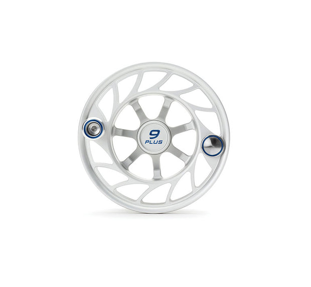 Hatch Finatic Gen 2 9 Plus Extra Spool with Clear body and Blue Paint Fill, Large Arbor