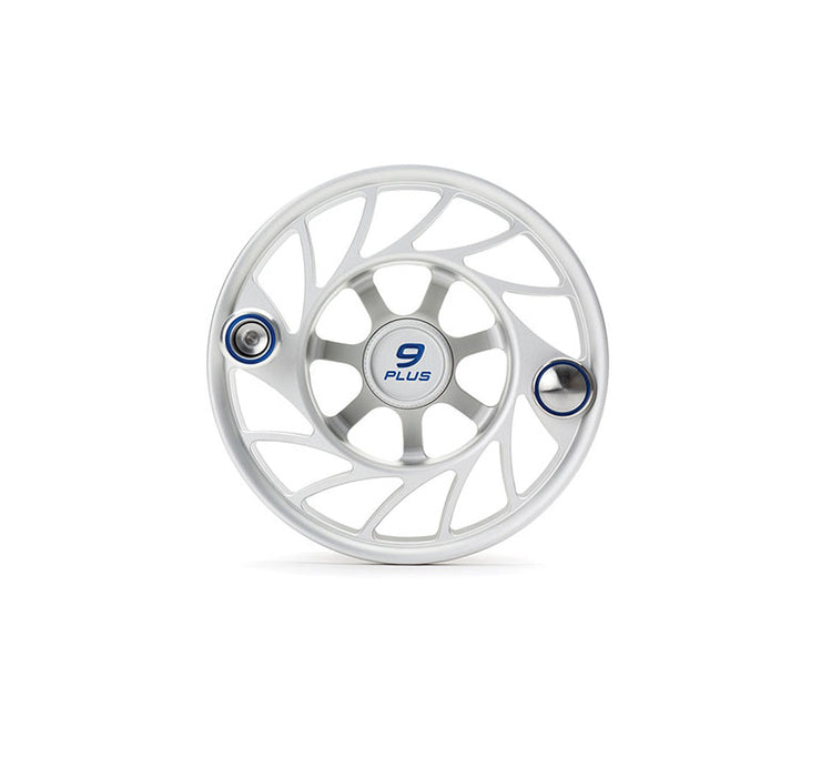 Hatch Finatic Gen 2 9 Plus Extra Spool with Clear body and Blue Paint Fill, Mid Arbor