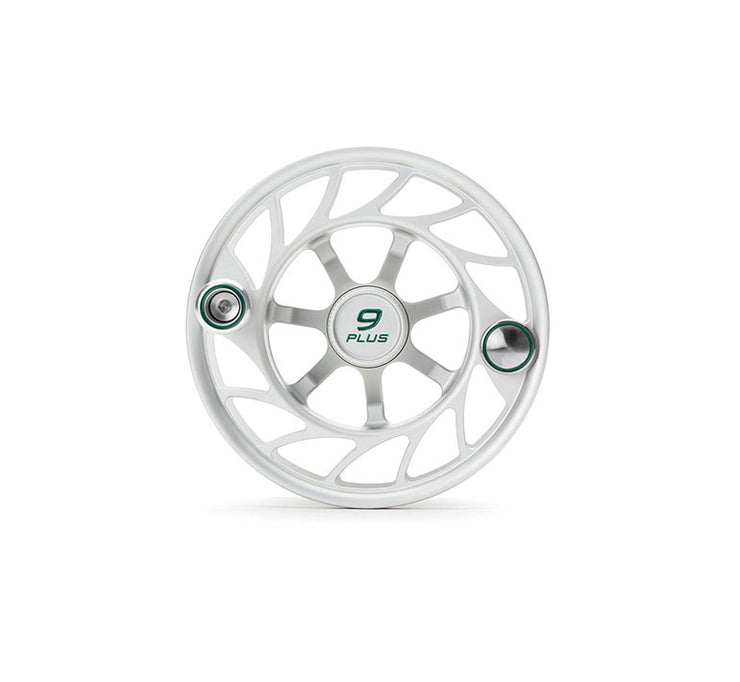 Hatch Finatic Gen 2 9 Plus Extra Spool with Clear body and Green Paint Fill, Large Arbor