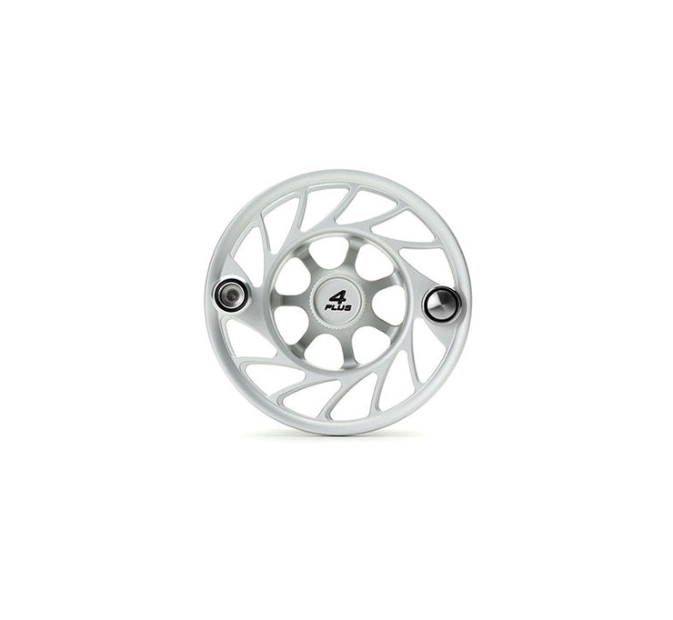 Hatch Finatic Gen 2 4 Plus Extra Spool with Clear body and Black Paint Fill, Mid Arbor