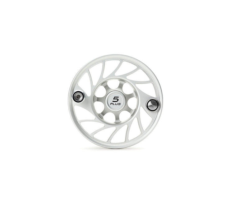 Hatch Finatic Gen 2 5 Plus Extra Spool with Clear body and Black Paint Fill, Mid Arbor