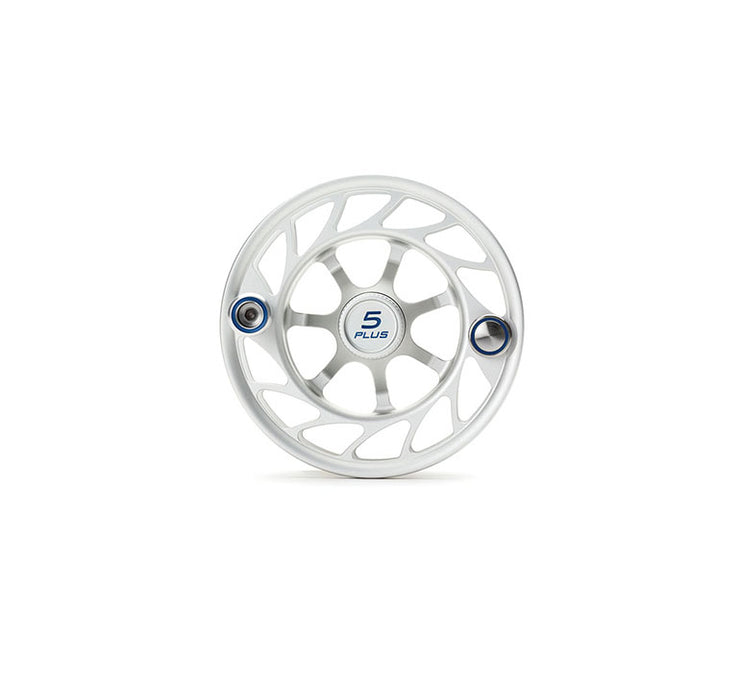 Hatch Finatic Gen 2 5 Plus Extra Spool with Clear body and Blue Paint Fill, Large Arbor