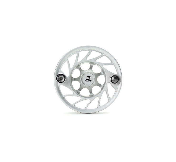 Hatch Finatic Gen 2 3 Plus Extra Spool with Clear body and Black Paint Fill, Mid Arbor