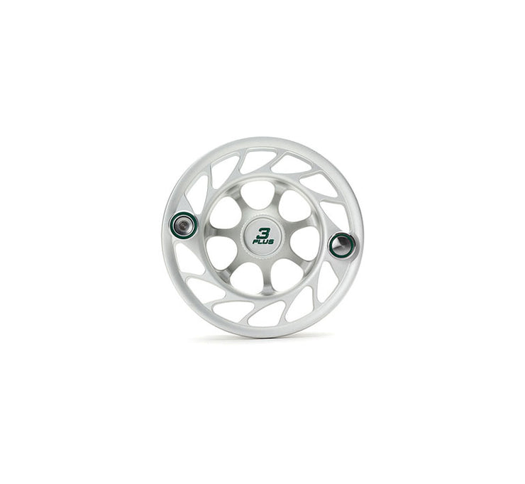 Hatch Finatic Gen 2 3 Plus Extra Spool with Clear body and Green Paint Fill, Large Arbor