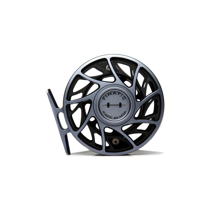 Grey & Black 5 Plus Finatic Gen 2 Reel
