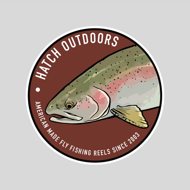 [NEW] Rainbow Trout Sticker
