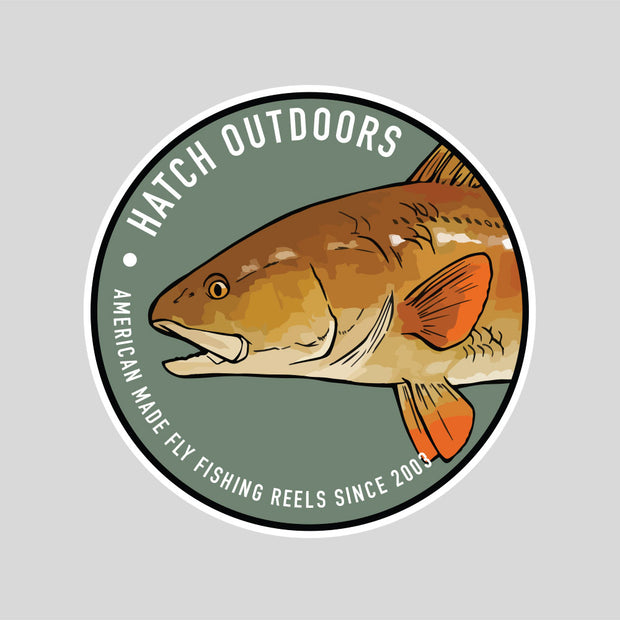 [NEW] Redfish Sticker